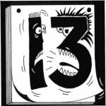 La mala reputación del número trece no es universal.