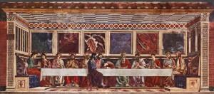 La Última Cena (de Andrea del Castagno).