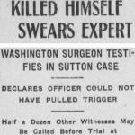 Experto jura que no pudo suicidarse (Los Angeles Herald, agosto 1909).