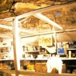 Cámara de aislamiento bajo tierra donde Stefania Follini pasó cerca de cuatro meses en un experimento diseñado para estudiar los efectos mentales y físicos cuando se vive en un entorno completamente separado de toda norma temporal.