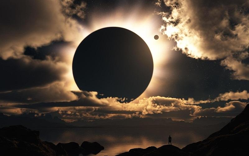 Los eclipses.