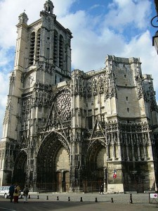 Catedral de Troyes, Francia.