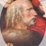 Cristóbal Colón (segmento en la pintura Virgen de los Navegantes realizada por el español Alejo Fernández).