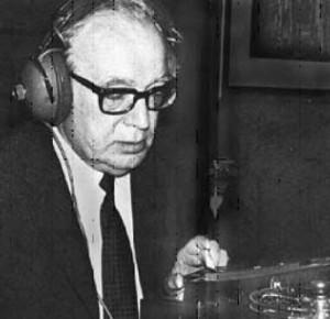 Konstantin Raudive dedicó nueve años a grabar y analizar los sonidos contenidos en decenas de miles de cintas.