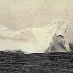 Uno de los iceberg que se cree pudo ser con el que chocó el Titanic.