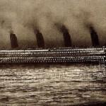 Viaje inaugural en 1912 del Titanic.