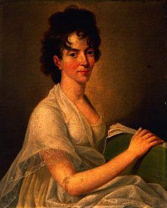 Constanze Weber, esposa de Mozart. A la muerte de este, tuvo dificultades económicas para poder mantener a sus hijos, y para poder sobrevivir, vendió las obras de su marido en 1800.