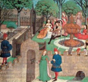 Los trovadores creían que del amor cortés emanaba la refinación social y moral, que los actos caballerosos y los hechos nobles se originaban en el amor.