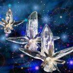 Algunas teorías apuntan que en el desaparecido continente de la Atlántida utilizaban cristales para canalizar y aplicar la fuerza cósmica.