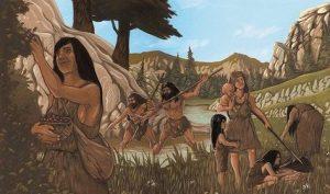 En la actualidad hay pueblos que viven como vivían los grupos humanos del Paleolítico, y en todos ellos la familia está perfectamente constituida.