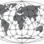 Un retículo cristalino, que proporciona una matriz para la energía cósmica, podría haber formado parte de la estructura original de nuestro planeta emergente. (Ilustración publicada en la revista soviética Khimiya i Zhizn)