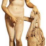 Afrodita de Cnido de la que se dice el renombrado escultor clásico ático Praxíteles se inspiró en Friné para realizarla.