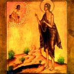 Santa María Egipcíaca, una asceta que se retiró al desierto tras una vida de prostitución, venerada como patrona de las mujeres penitentes.