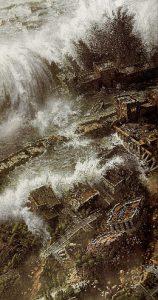 Zeus, rey de los dioses, castigó de un modo inimaginable a los atlantes.
