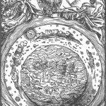 La teoría geocéntrica es una antigua teoría que pone a la Tierra en el centro del universo, y los astros, incluido el Sol, girando alrededor de ella.