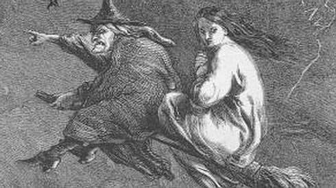 Visión clásica de las brujas durante los s. XV-XVII
