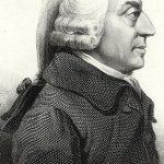 Adam Smith (1723-1790), economista y filósofo escocés, padre de las teorías de libre mercado o librecambismo.