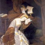 Ana Bolena en la Torre de Londres. Reina consorte de Inglaterra por su matrimonio con Enrique VIII. Murió ejecutada tras un discutible juicio y fue madre de la soberana Isabel I, una de las más importantes monarcas de la historia británica.