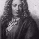 """Arcangelo Corelli (1653-1713), primer compositor en usar el término """"concerto grosso"""", una forma instrumental barroca de origen italiano basada en la contraposición entre un pequeño grupo de solistas (un concertino) y una orquesta completa (el tutti)."""