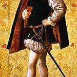 Lord Guilford Dudley fue el esposo de Jane Grey, quien ocupó el trono inglés del 10 al 19 de julio de 1553. Prima del rey Eduardo VI, este le había declarado su heredera, pasando por encima de sus medias hermanas.