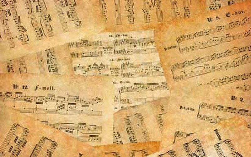 Historia de la música occidental antigua.