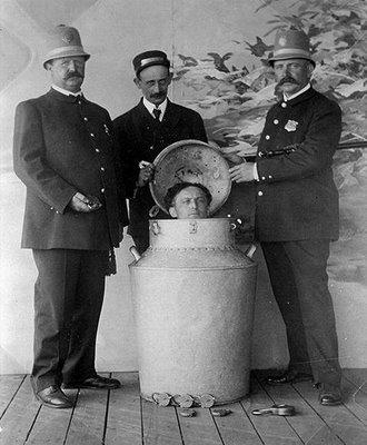 Número del bidón de leche de Houdini