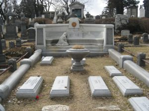 Cementerio judío en Nueva York donde reposan los restos del afamado escapista.