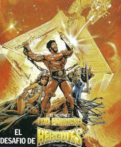 'El desafío de Hércules' (1983) con Lou Ferrigno.