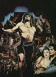 'Sansón y Dalila' (1949) con Victor Mature, el perfecto héroe bíblico de Hollywood. De sus cinco candidaturas a los premios Óscar, ganó dos.