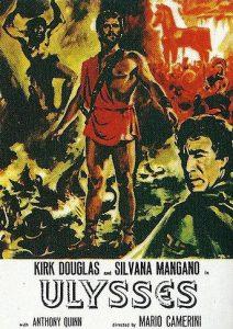 'Ulises' fue dirigida por Mario Camerini y Mario Bava, y contó con Kirk Douglas en el papel de Odiseo. En Italia, fue la cinta más taquillera de la temporada 1954-1955.