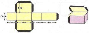 El ortoedro tiene seis caras, doce aristas y ocho vértices.