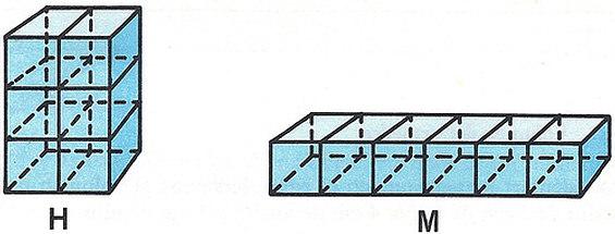 Dos cuerpos, aunque no sean iguales, si tienen igual volumen, se llaman equivalentes.