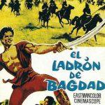 'El ladrón de Bagdad' es una película de 1961 protagonizada por el levantador de peso y culturista Steve Reeves.