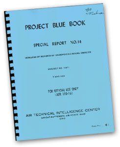 El Proyecto Libro Azul fue una serie de estudios sobre ovnis por parte de la Fuerza Aérea de los Estados Unidos (USAF). Iniciado en 1952, estuvo activo hasta diciembre de 1969.