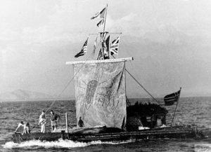 ...diseñada para intentar demostrar que los pueblos de la Antigüedad pudieron realizar largos viajes oceánicos que pusieran en contacto a culturas separadas.