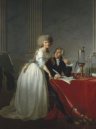 Lavoisier y esposa