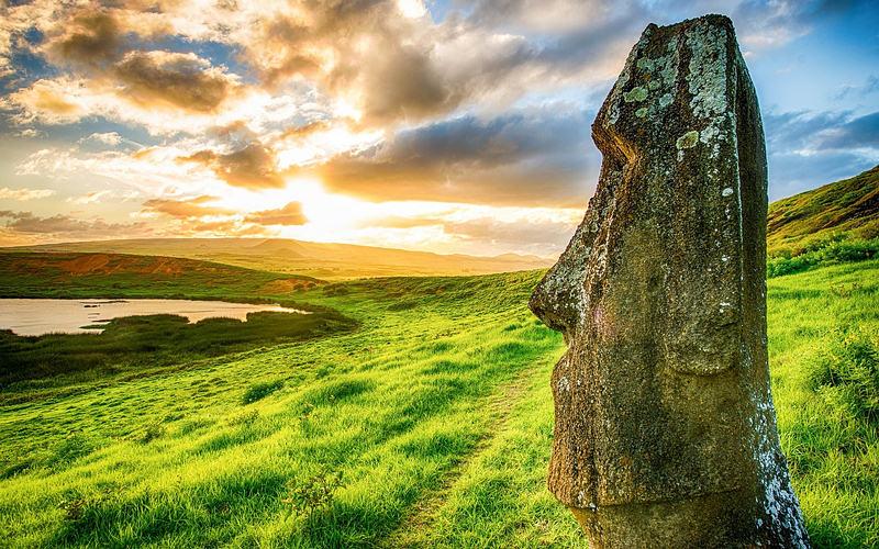 El misterio de Rapa Nui.