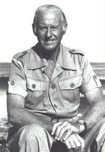 Thor Heyerdahl, explorador noruego (1914-2002). Alcanzó renombre mundial por organizar la expedición Kon-Tiki en 1947...