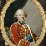 Duque Étienne-François de Choiseul (1719-1785) fue embajador y después secretario de Estado de Luis XV. Poseía una gran inteligencia para tratar todos los asuntos y era perseverante en el trabajo, pero le faltaba tenacidad para enfrentarse a sus oponentes.
