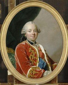 Duque Étienne-François de Choiseul (1719-1785) fue embajador y después secretario de Estado de Luis XV.