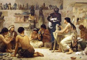 A lo largo de las rutas marítimas y terrestres humanas de comercio, el gato egipcio se extendió por todo el Viejo Mundo.