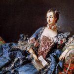 Jeanne-Antoinette Poisson, duquesa-marquesa de Pompadour y marquesa de Menars, con paridad francesa (fórmula con la que los reyes distinguían a los nobles más importantes), conocida como madame de Pompadour.