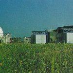 Centro de control de satélites Hispasat de Arganda del Rey, Madrid (España) en 1992.