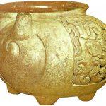 Vaso en forma de caracol (c. 800).