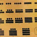 Números mayas del 1 al 20.