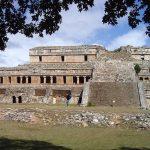 Palacio en Sayil, ubicado en el norte de Yucatán.