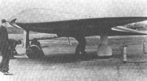 Revolucionario cazabombardero de planta triangular ideado por los hermanos Horten para la Luftwaffe.