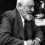 Viktor Schauberger (Austria, 1885-1958), desarrollador de la tecnología de implosión. Cuando acabó el conflicto bélico, fue investigado por agentes de inteligencia de los Estados Unidos para conocer sobre sus actividades durante el tiempo de guerra.
