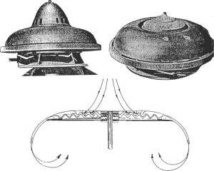 Modelos del inventor austriaco Viktor Schauberger.