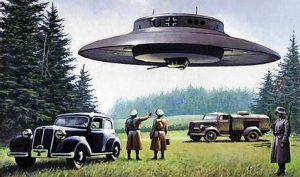 """Se conservan fragmentos de un informe alemán que trata sobre una """"misión suicida"""" que se llevó a cabo con un único Haunebu III que se llegó a construir: ¡un vuelo a Marte!"""